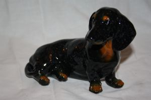 Dachshund Figurine now with free P&P